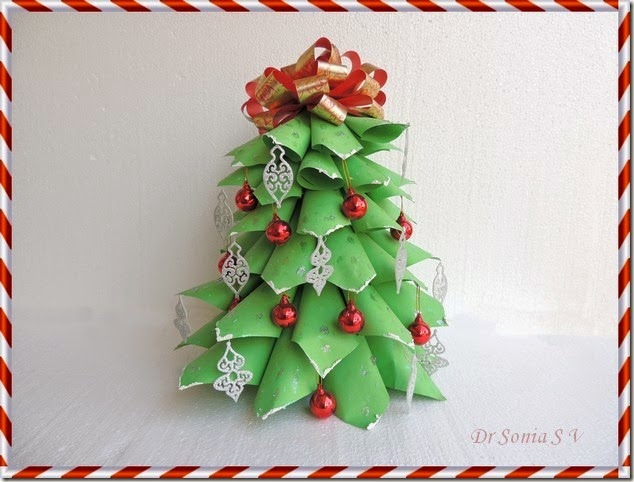 http://cardsandschoolprojects.blogspot.in/2014/01/paper-christmas-tree-tutorial.html