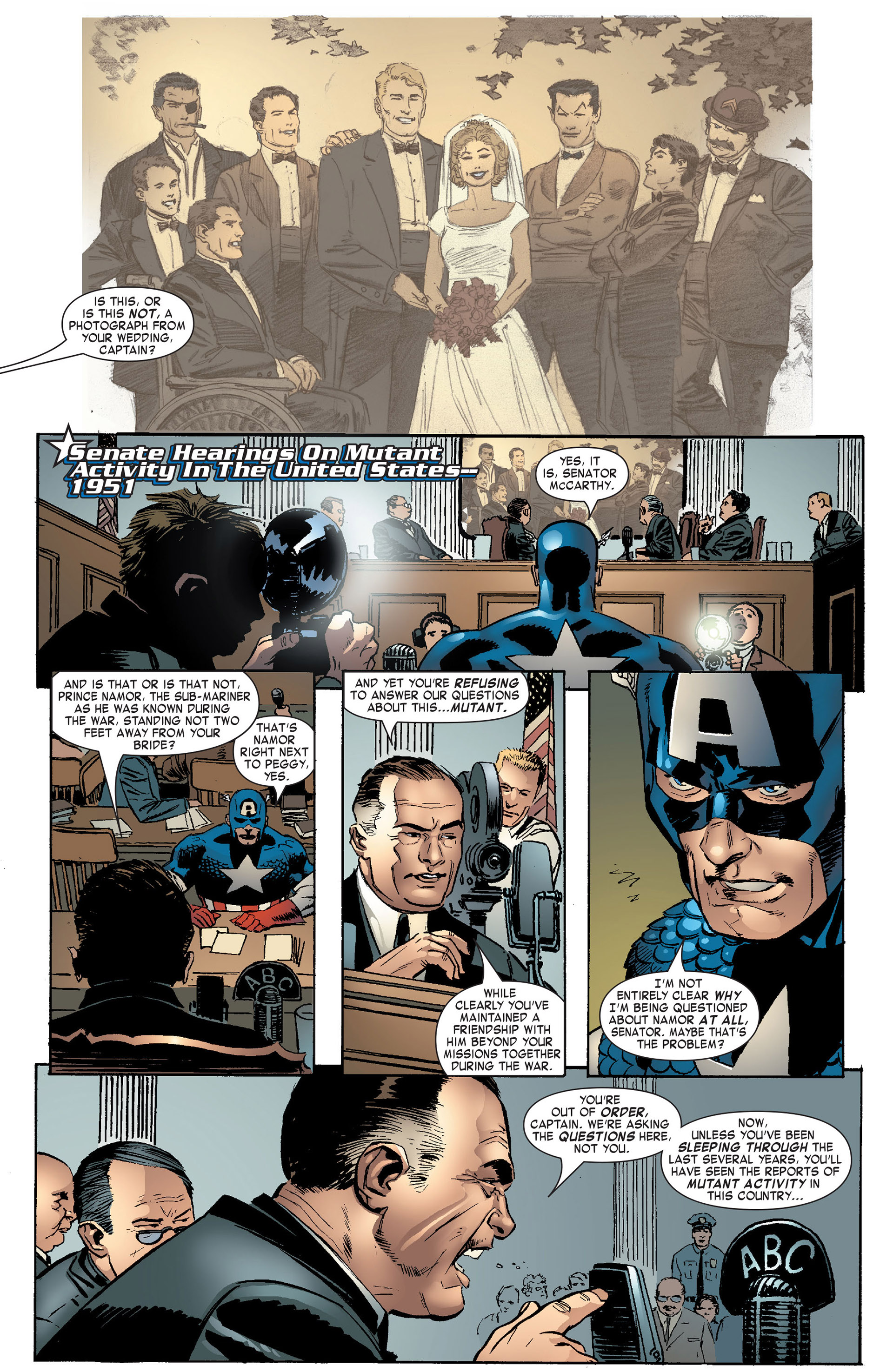 Captain America (2005) Issue #10 #10 - English 12