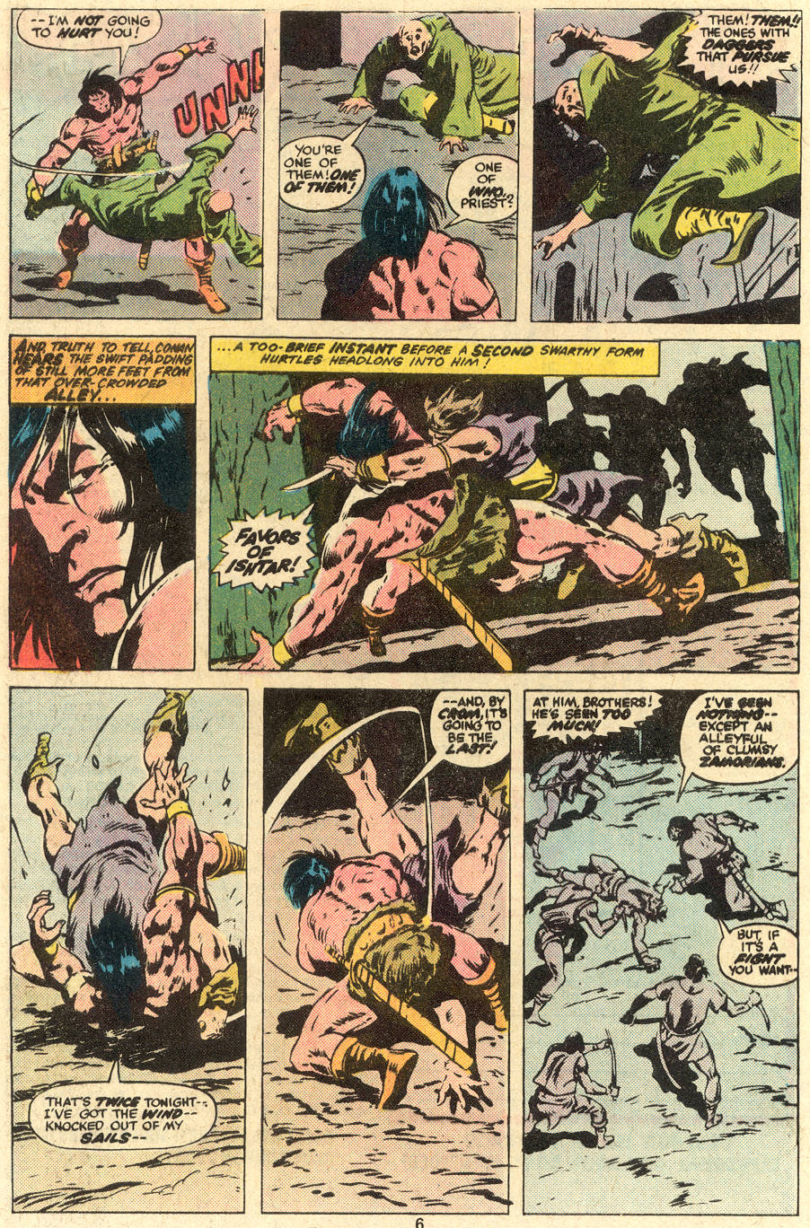 Conan the Barbarian (1970) Issue #78 #90 - English 5