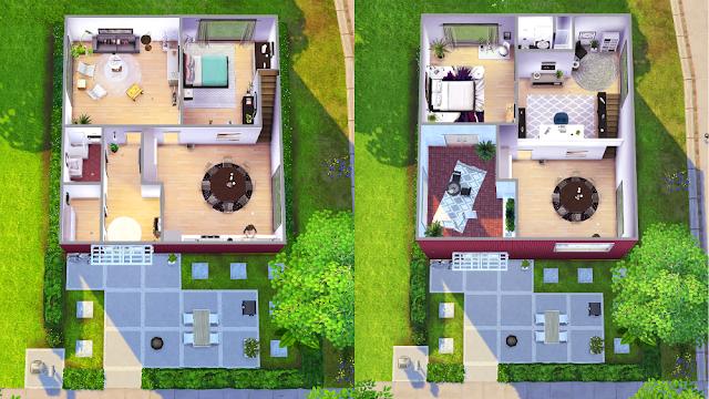 Sims 4 Floor Plan