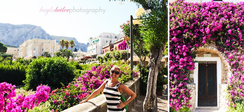 capri scenery photo