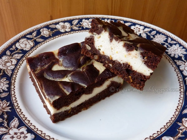 Cheesecake Brownie « Vegan Recipes « Vegan Magic