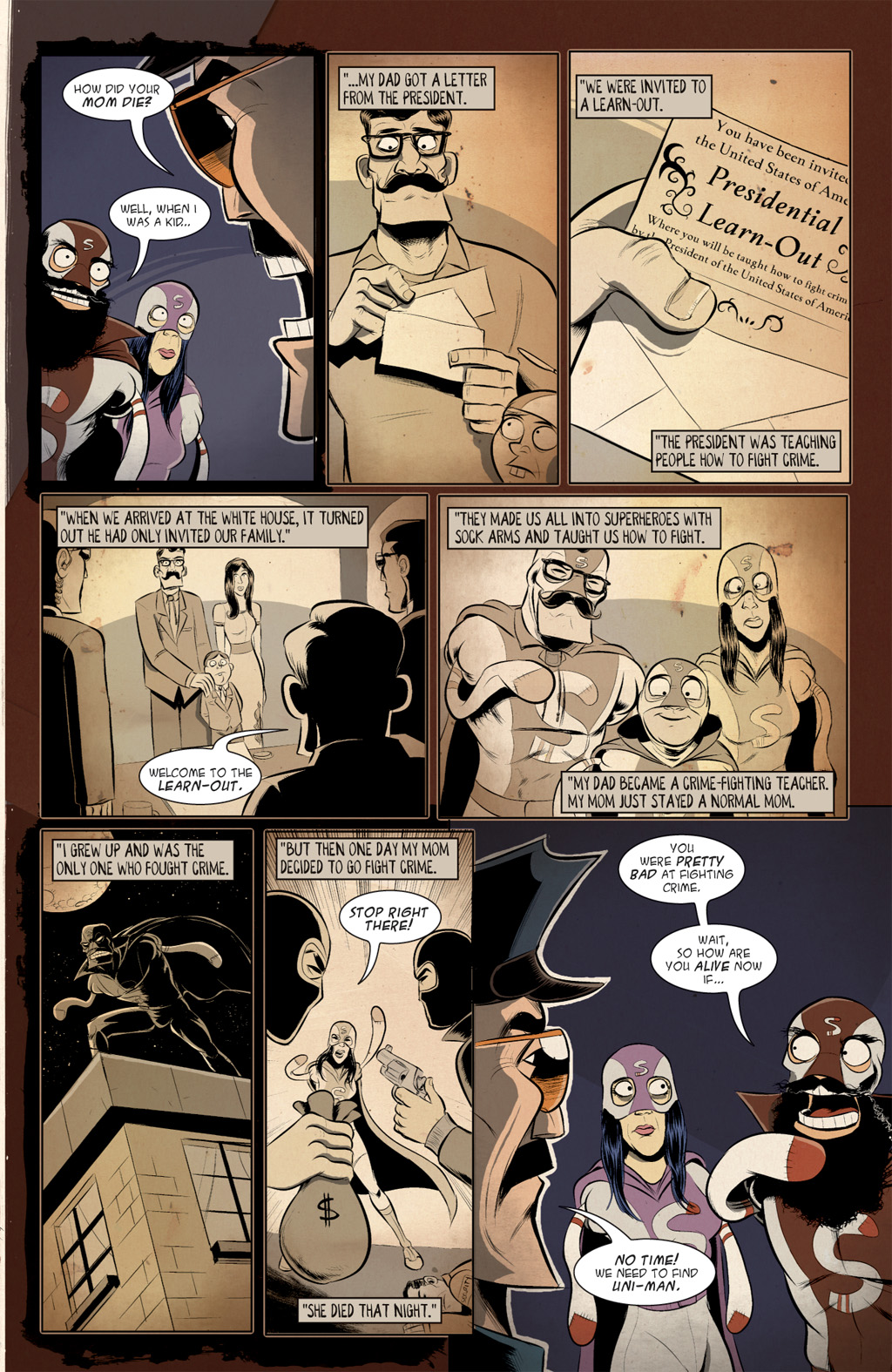 Read online Axe Cop: Bad Guy Earth comic -  Issue #2 - 17