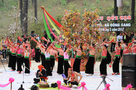 Lễ hội Hết Chá của dân tộc Thái