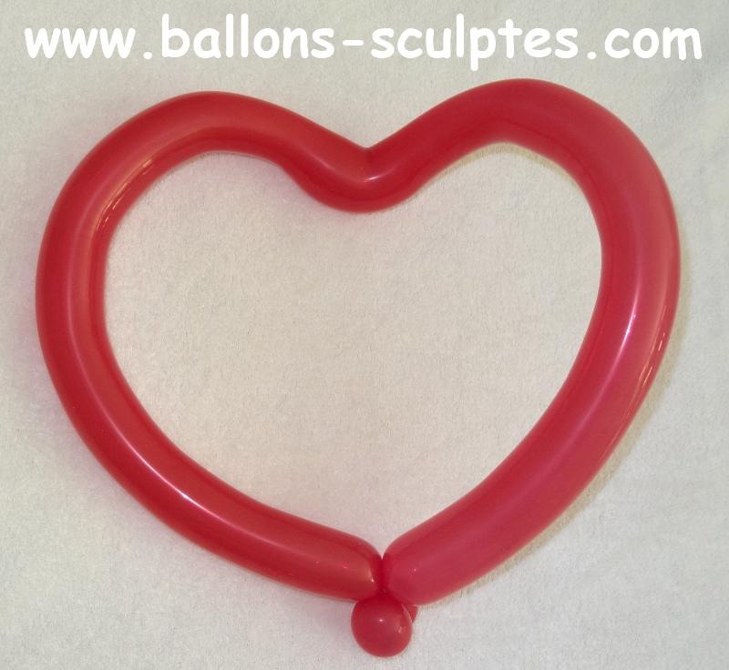 ballons sculpt s coeur en ballon sculpt. Black Bedroom Furniture Sets. Home Design Ideas