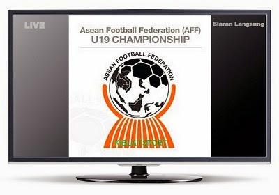 Jadwal Siaran Langsung Piala AFF U-19 Championship 2014