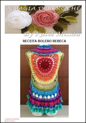 Lançamento! Receita Bolero Rebeca