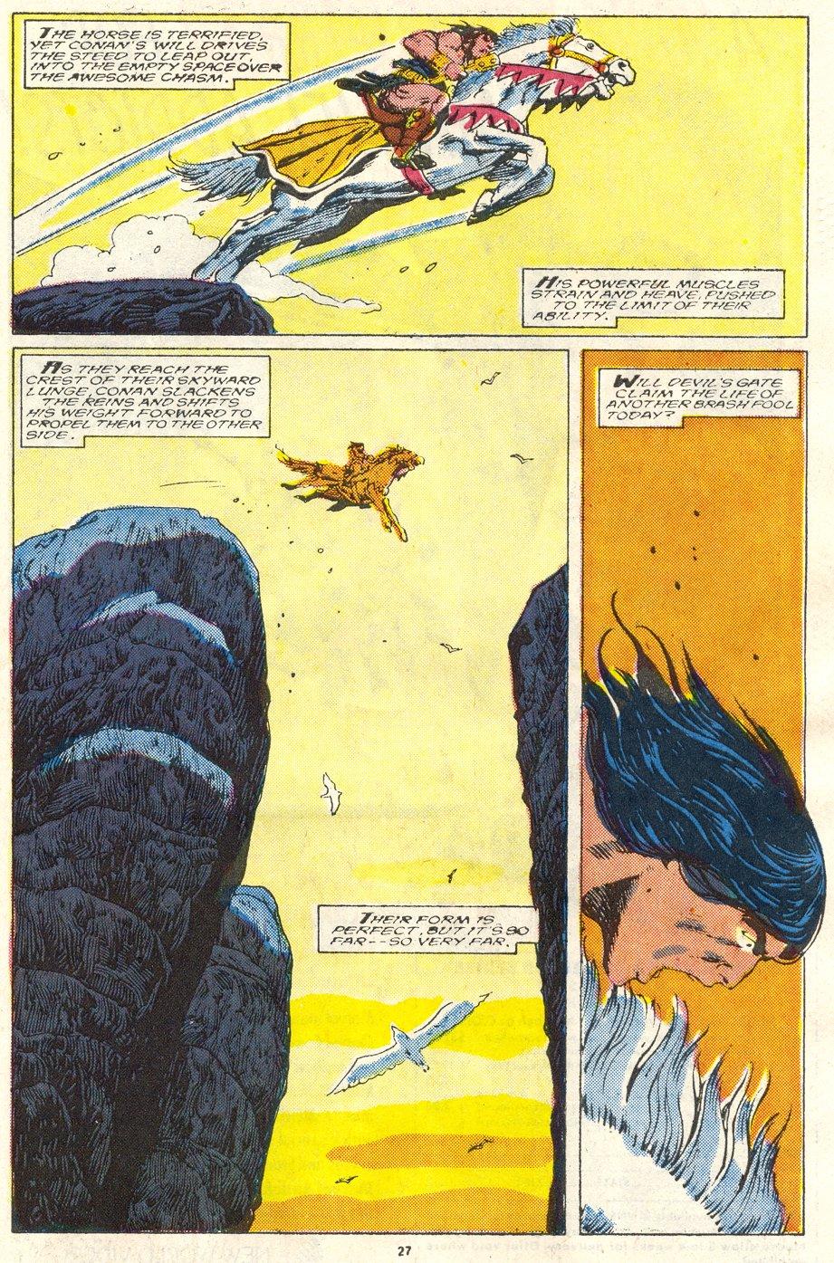 Conan the Barbarian (1970) Issue #219 #231 - English 22