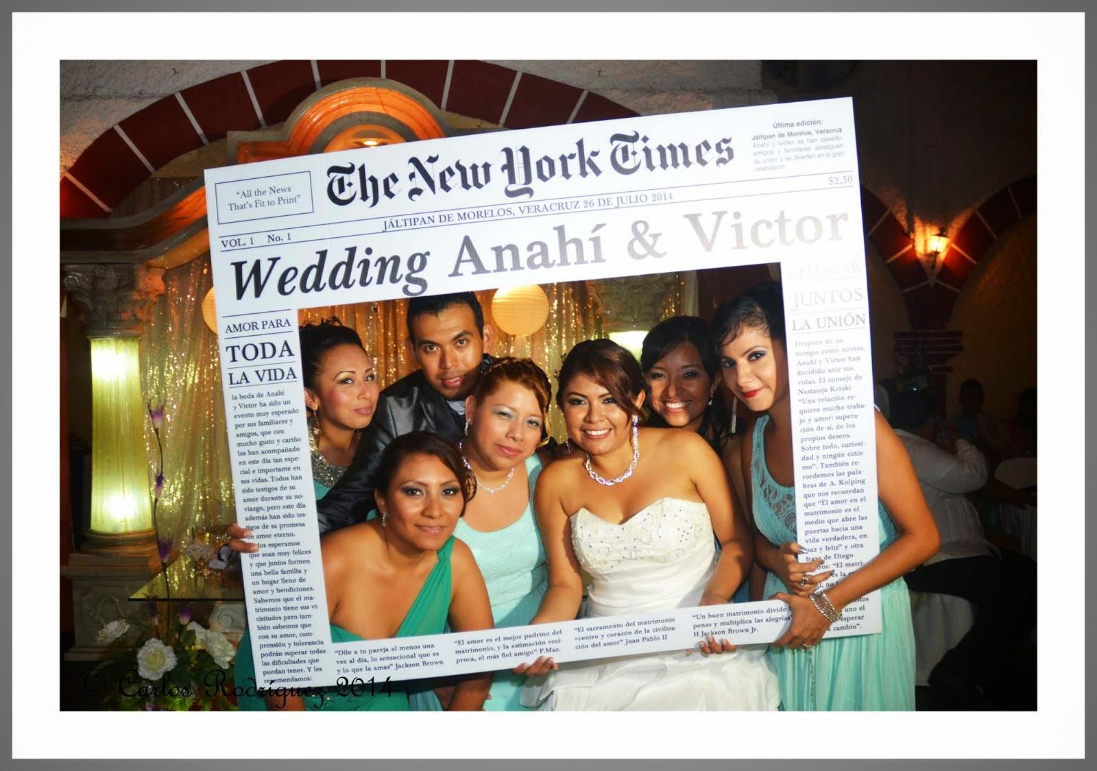 Marco para bodas fiesta for Construye tu casa online