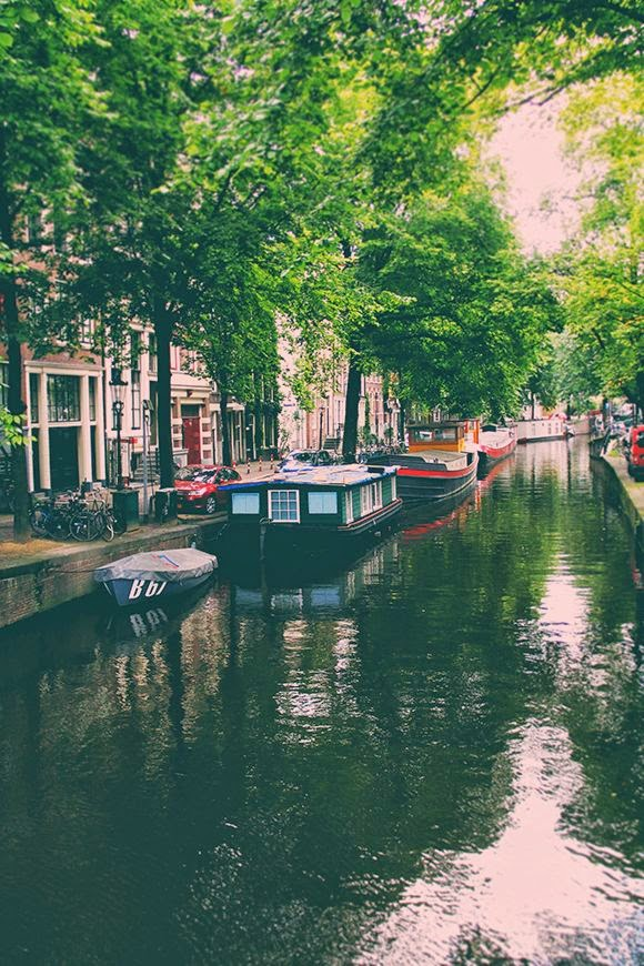 """canals and ferries in amsterdam - most visit soon!"""
