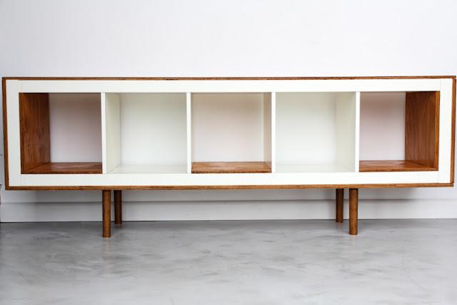 Sideboard im Mid-Century Design mit IKEA - eine leichter Selbermachen-Tipp zum Einrichten und schöner Wohnen
