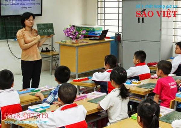 Gia sư lớp 1 - Trung tâm gia sư Sao Việt cung cấp gia sư giỏi chuyên lớp 1 với kỹ năng sư phạm Tiểu Học. Cam kết giúp các bé lớp 1 học tốt lên mỗi ngày.