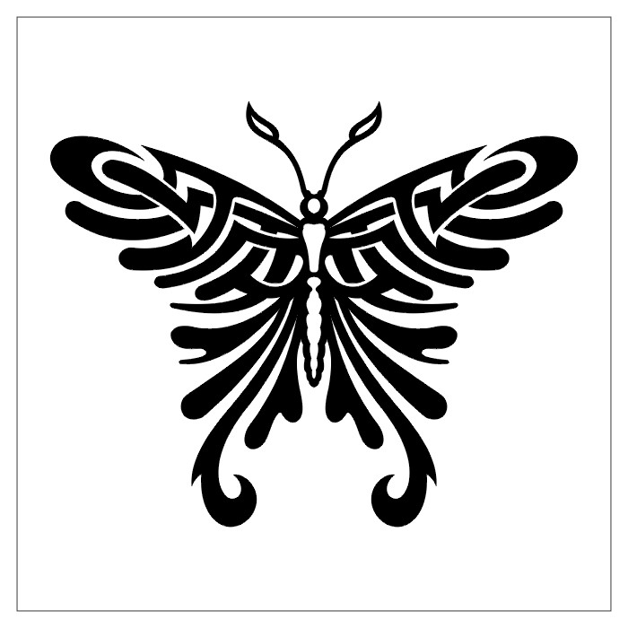 Celtic Butterfly Tattoos-26