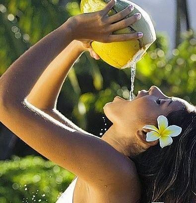 Phương pháp giảm cân bằng nước dừa