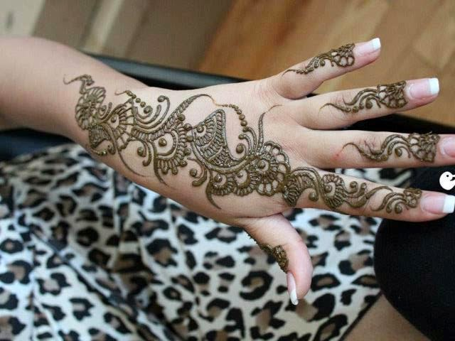 Bridal Mehndi Designs April 2014