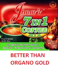 Jimm's coffee better than organo gold