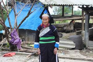 A Pa Dí ethnic woman in Mường Khương