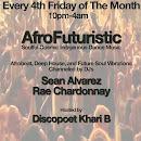 Friday August 25th: AfroFuturistic @ Underground Wonder Bar