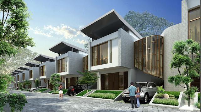 Gambar Rumah Type Magnolia Pondokcabe dekat Jakarta Selatan