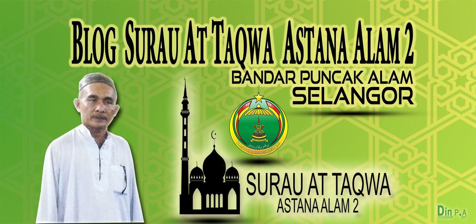 Surau at Taqwa AA2 Puncak Alam