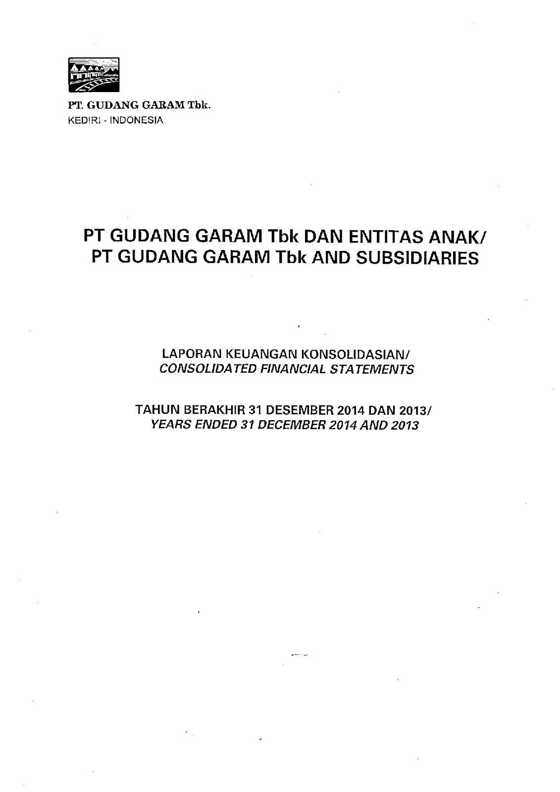 Della S Project Financial Statement Dan Financial Reporting