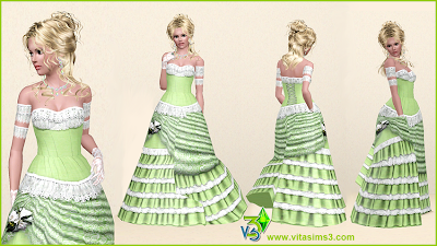 Wedding Dresses and Jewelry by Vita Sims Lilydress_3