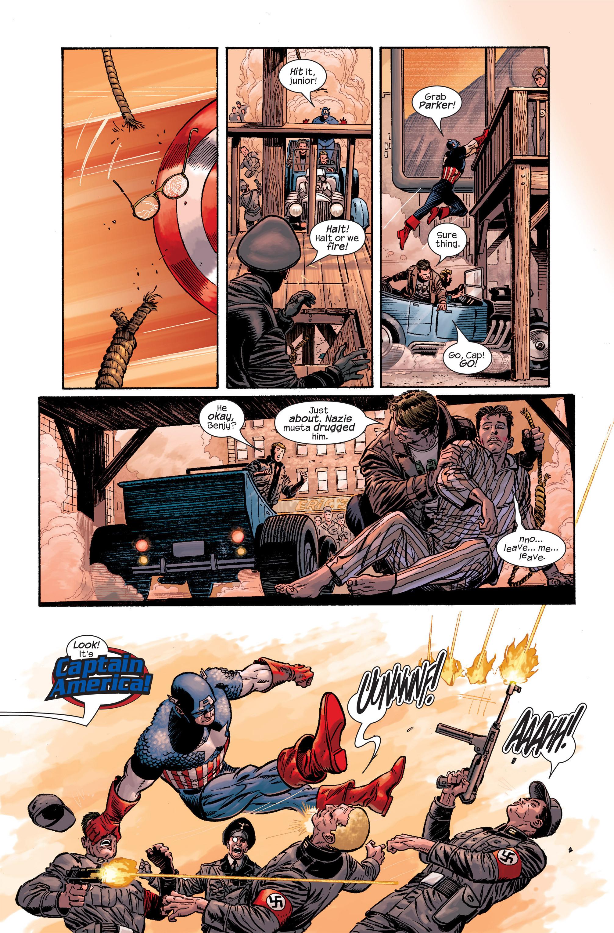 Captain America (2002) Issue #19 #20 - English 10