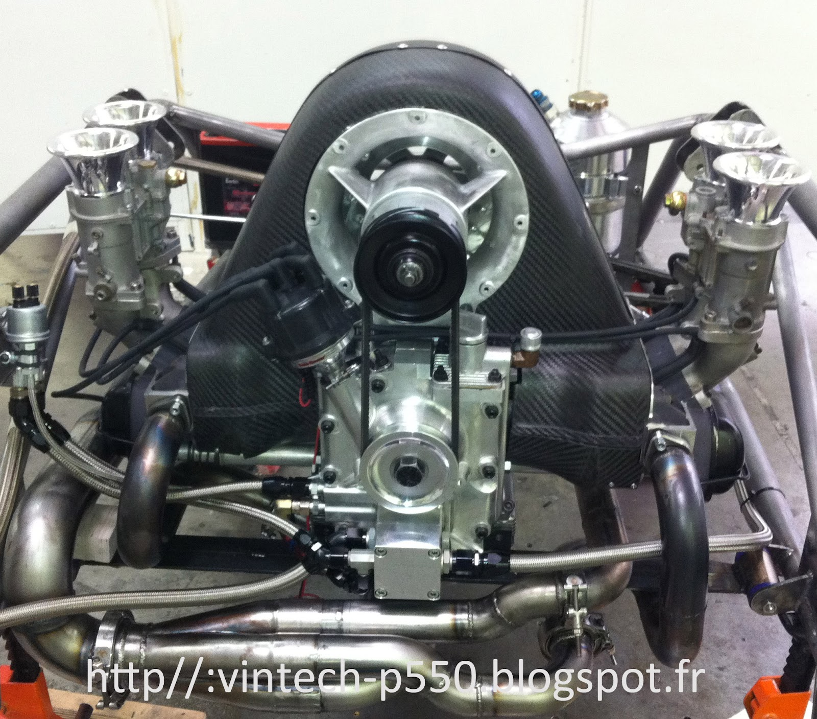 Vw 1600 Engine Removal: AMAZING Porsche 550 Tribute. WOW