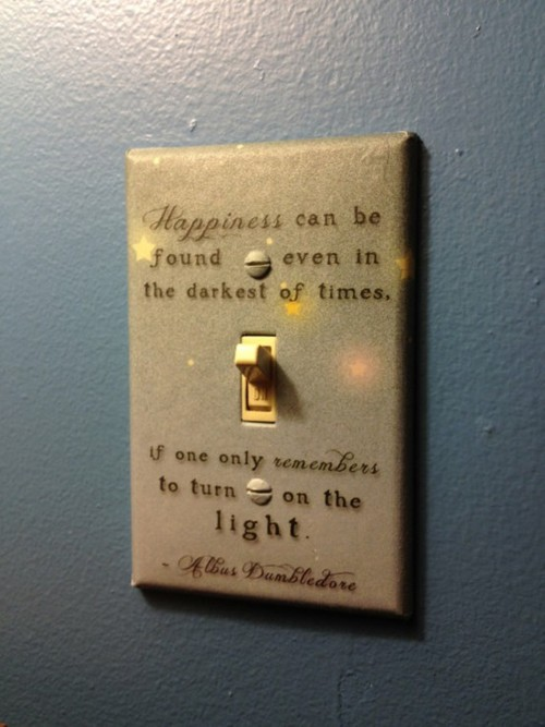 Harry Potter Book Light : Inspiring quotes words by albus dumbledore