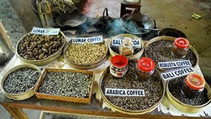 All kinds of coffee