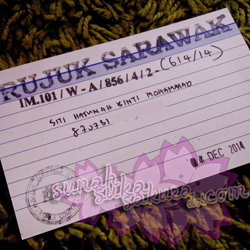 Orang Sarawak Buat Carian Sijil Lahir dan Passport Di Semenanjung