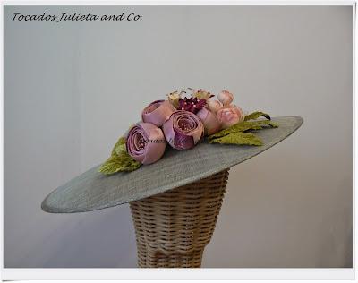 pamela con flore