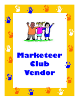 It's Marketeers Club Day at ChiknEGG's My Manakin Market on Saturday, September 28th, 2014