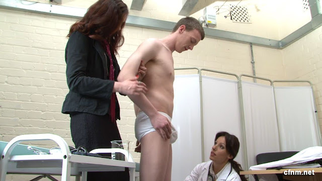 medical exam erotic erection