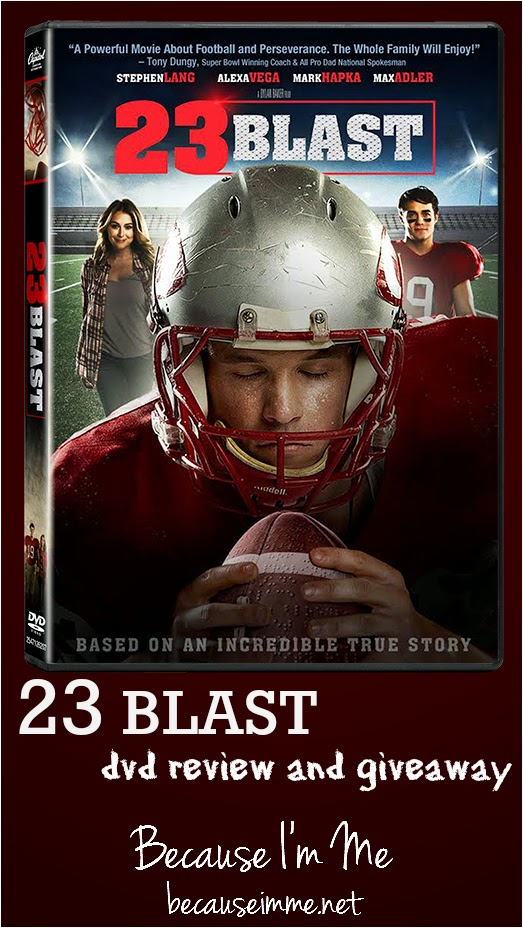 review and giveaway 23 blast dvd football movie