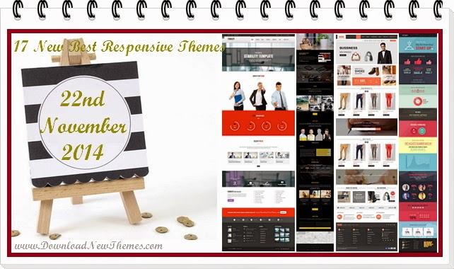 New Responsive Premium Themes