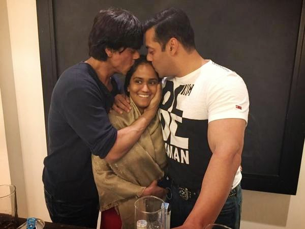 sharukh, salman and Arpitha
