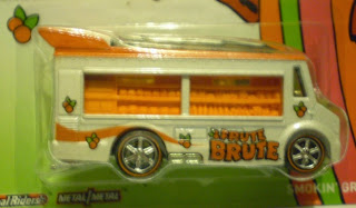 Close up of Frute Brute's Smokin' Grille from Hot Wheels