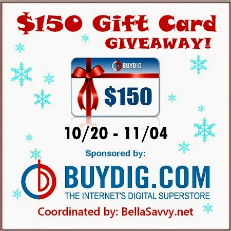 Enter to Win a $150 BuyDig Gift Card -- Computers, Televisions, Cameras, and More!