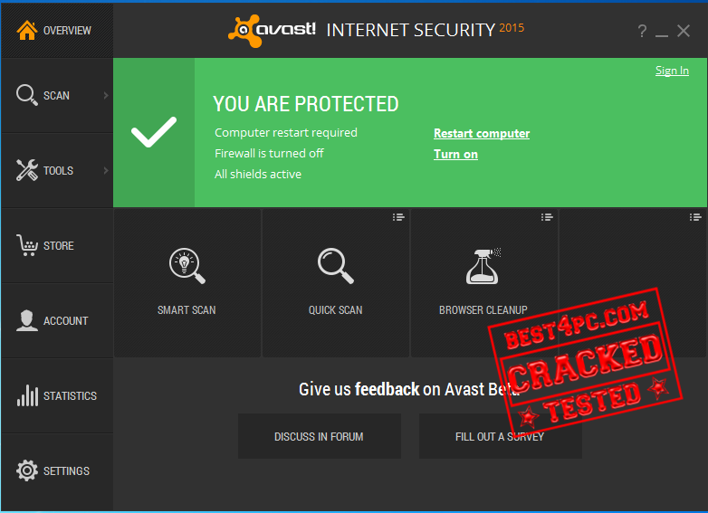 Avast Internet Security 2015 Full + License Key Find4something