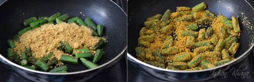 Besanwali Bhindi Sabzi Okra Recipes