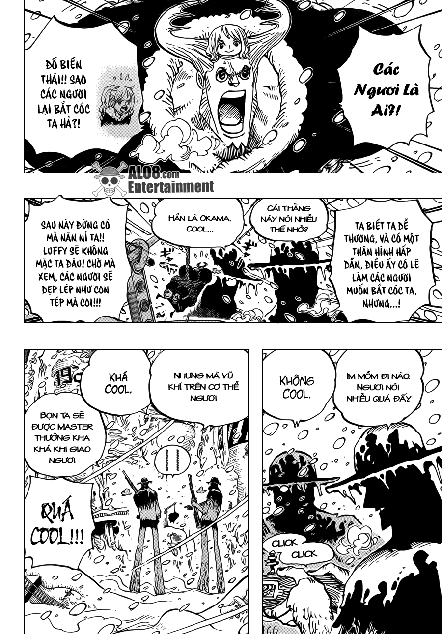 One Piece Chapter 667: Huynh đệ COOL 006