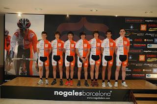 presentacion equipos club ciclista sant boi escola ciclisme