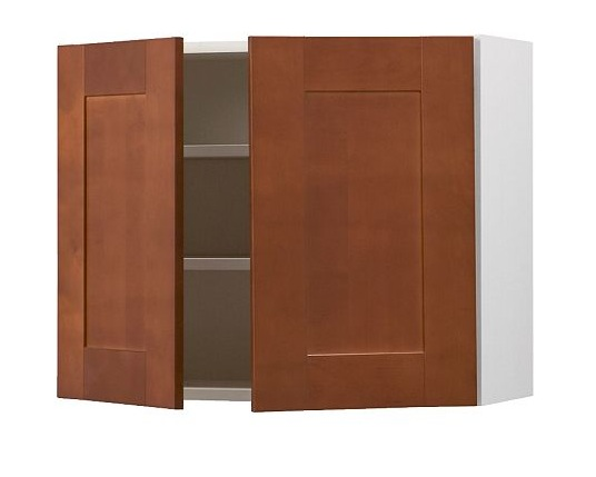 The Akurum Cabinets (in Ädel Medium Brown) That We Have In Our Kitchen