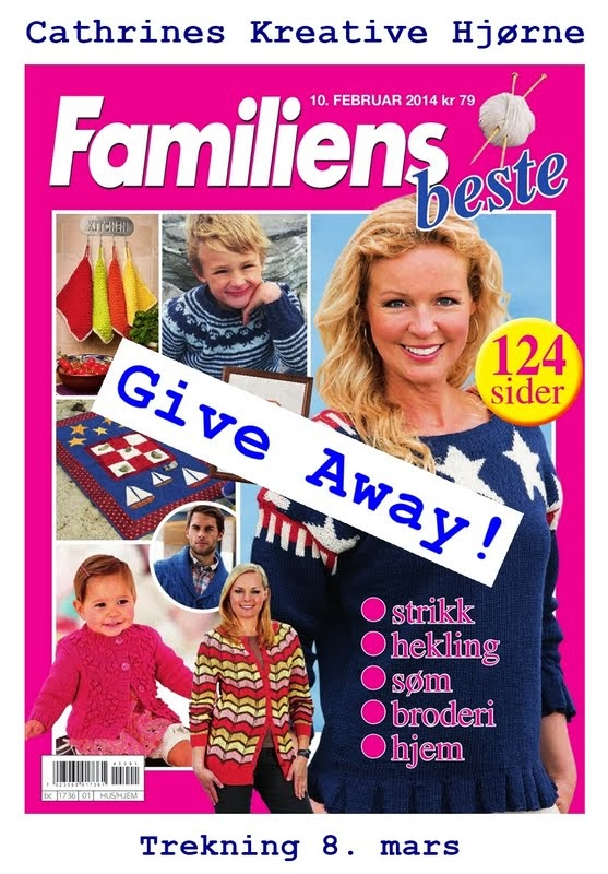 Give away hos Cathrines Kreative Hjørne.