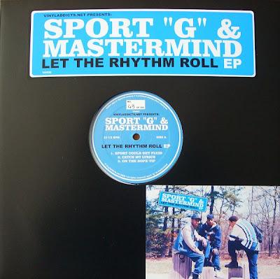 "Sport ""G"" & Mastermind – Let The Rhythm Roll EP – 12"" EP – 2008"