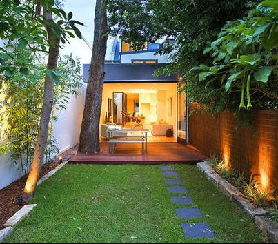 Pin Decoraci Jardines Casa Minimalista Ladrillos Fachadas Casas Fotos