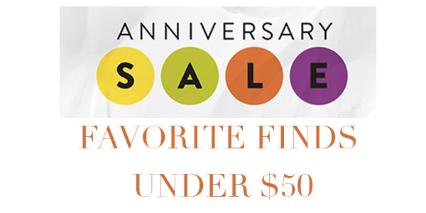 anniversary sale favorites under $50