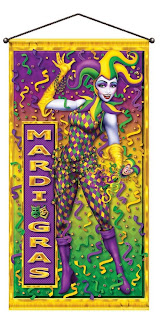 Mardi-Gras-Door/Wall-Panel