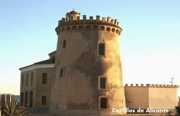 Gu a de los castillos torres y fortificaciones de alicante torre de la horadada pilar de la - Casas en pilar dela horadada ...